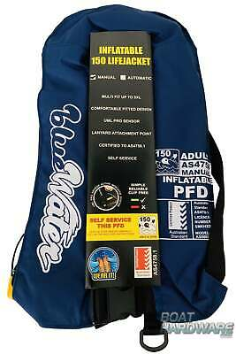 Life Jacket Adult 40kg+ Inflatable AS4758 Boat Safety BRAND NEW