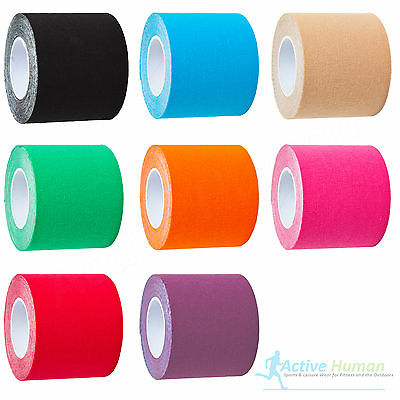 2 Rolls Kinesiology Tape Sports Injury Muscle Strain Physio Support KT Ares