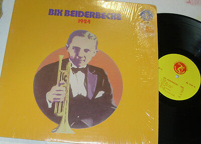 BIX BEIDERBECKE, Bix Beiderbecke And The Wolverines 1924 Recordings   LP