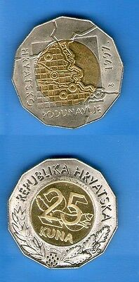 CROATIA  SET 25 KUNA COIN  11 DIFFERENT 1997 2013 ALL UNC ALL issued RARE RRR