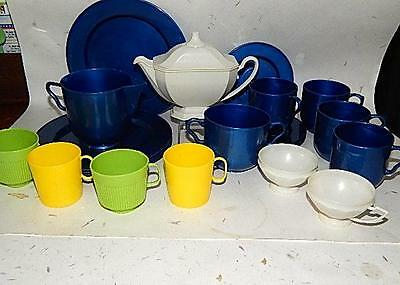 Vintage Lot -Assorted Toy Plastic Dishes