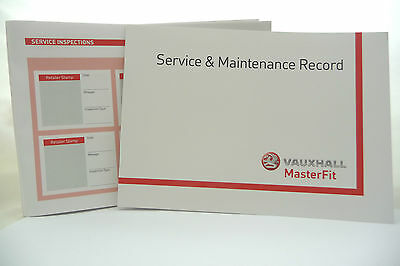 Vauxhall Service Book History Record  Insignia & Tourer  Antara  Astra Twintop
