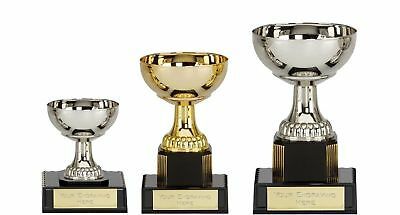 Budget Presentation Cup Sports Trophy  School Award  Three sizes FREE ENGRAVING