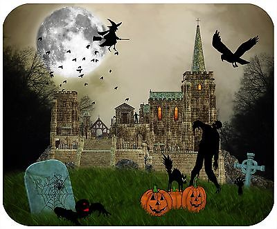 Mouse Pad Custom Thick Mousepad - Halloween 2