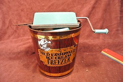 Vintage Junior Chef Toy Ice Cream Maker