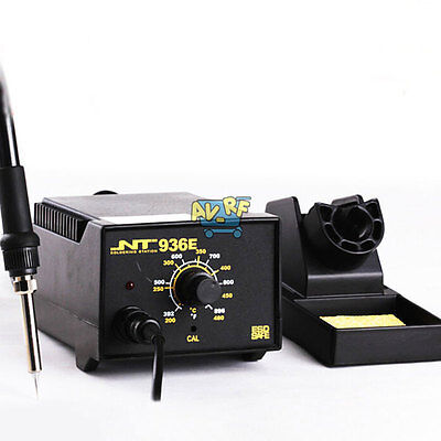 60W 936 ESD SAFE Iron Soldering Station Set Solder Welding Ceramics Heating Core