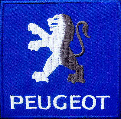 PEUGEOT lion Embroidered Iron on Patch French Motorcycles Scooter vintage DIY