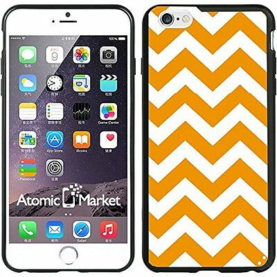 Orange Chevron For Iphone 6 Plus 5.5 Inch Case Cover
