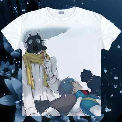 New Man T-shirt Japanese Anime DRAMAtical Murder Clothing Costume 2014
