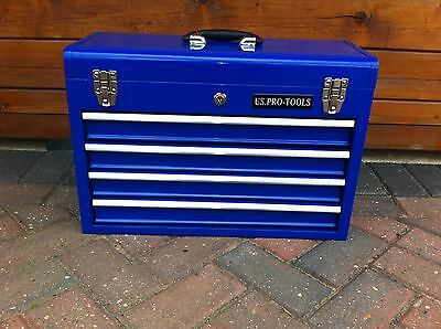 44 US Pro Single Tool Box Chest - TOOL CHEST 4 DRAWER