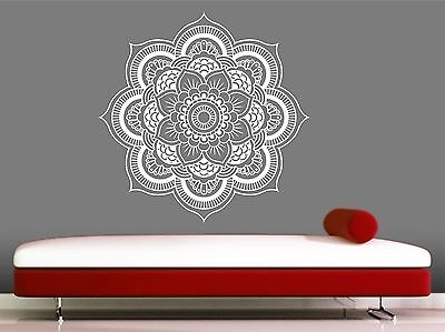 Mandala wall decal- Eye -Indian -Buddha -Yoga- Fatima, Mandala ,Ganesh ,Lotus