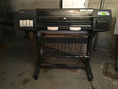"""HP DesignJet 1050C Color Plotter 36"""" Wide Format~FREE FREIGHT!"""
