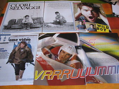 EMILE HIRSCH 19 ITALIAN MAGAZINE CLIPPINGS into the wild, speed racer