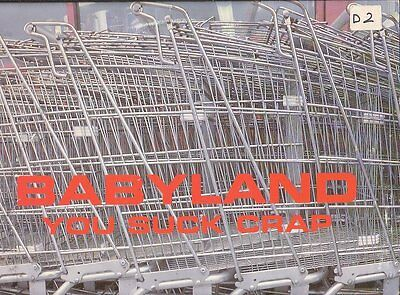 Lp 1364 Babyland You Suck Crap