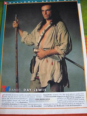 DANIEL DAY-LEWIS 19 ITALIAN/US CLIPPINGS ARTICLES PINUP POSTERS