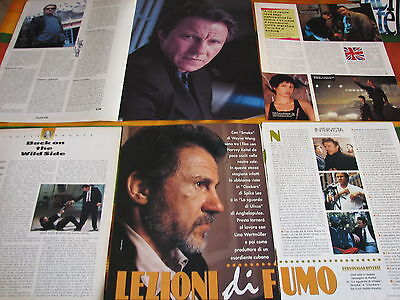HARVEY KEITEL 14 ITALIAN CLIPPINGS ARTICLES PINUP POSTERS