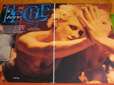 ANNE HECHE 7 ITALIAN/US MAGAZINE CLIPPINGS PINUPS