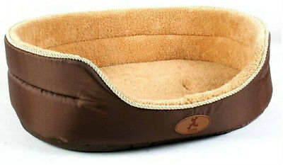 New 3 Color Pet Dog Cat Bed Kennel 2 sides Use Machine Washable Size S-XL