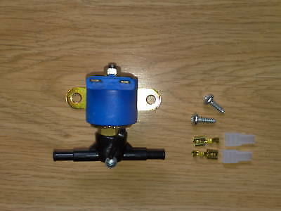 Petrol,diesel,solenoid shut cut off valve 12V,lock off,liquid,air,LPG conversion
