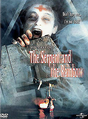 The Serpent and the Rainbow (DVD, 2003)
