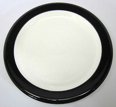 Mikasa Color Complements - Jet Band - Black - Dinner Plate - #C-2701 - 1978-1979