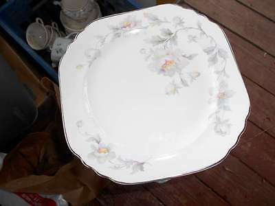 """The Limoges China Co. Silver Moon 9 3/4"""" Dinner Plate 4M133 Pearl Ivory"""