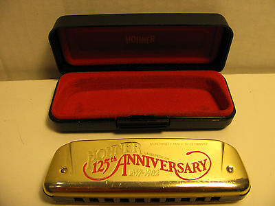 HOHNER 125TH   ANNIVERSARY HARMONICA 1982 LIMITED EDITION