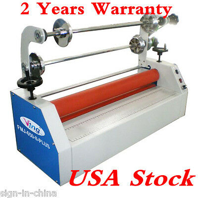 "USA Stock-26""Semi-auto Small Home Electric Business Card Cold Laminating Machine"