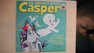 The Friendly Ghost CASPER Wonderland Records LP 60s