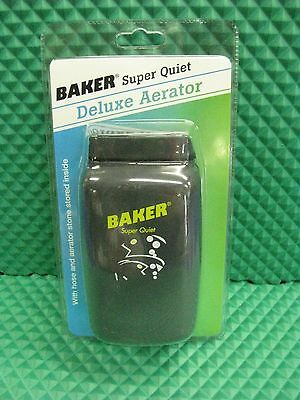 Baker Deluxe Live Bait Aerator with Hose and Aerator Stone #BDA