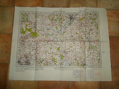 BURTON AND WALSALL Large Map Sheet 62 War Revision 1940 Ordnance Survey
