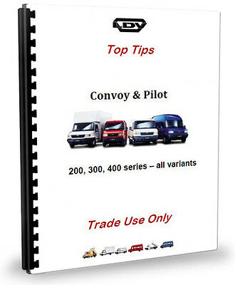 LDV Convoy Van Minibus Top Tips - Trade Use