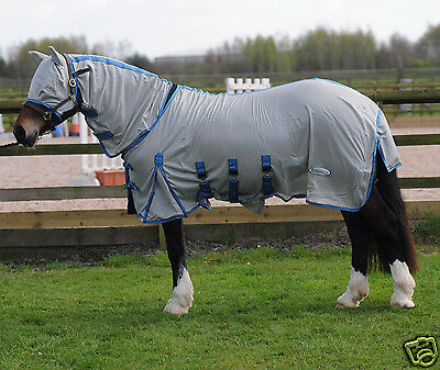 Ridemaster Combo Fly Rug Horse & Pony All Sizes FREE FLY MASK