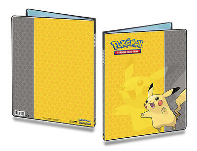 UP 9-Pocket Portfolio Album Pokemon Motiv PIKACHU-OVP Mappe Ordner f.180 Karten