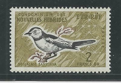New Hebrides, French # 121 Birds, Flycatcher