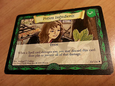 Harry Potter TCG BASE Set HP Trading Card Game Wizard Potions Ingredients #33