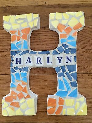 Custom Made Initial with Name Wall Hanging Great Gift