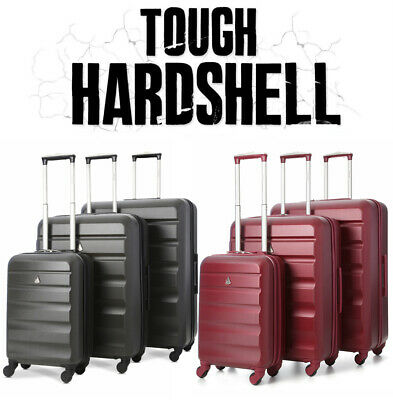 STOCK CLEARANCE Hard Shell Travel Luggage Suitcase 4 Wheel Spinner Trolley Case