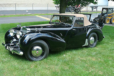 Triumph : Other 2-DOOR  roadster  with rumble seat. 1948 triumph 1800 roadster excellent condition 8791 miles