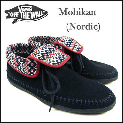 11c82506248 New Vans Authentic Mohikan Nordic Blue Shoes Womens Sz 9 Surf Siders  Moccasins