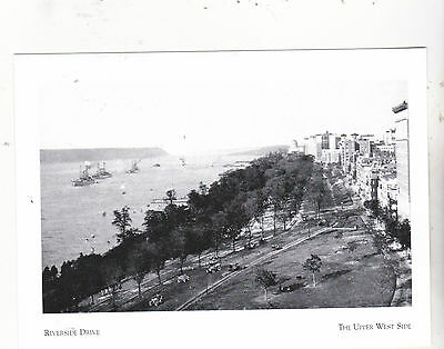 """""""View Riverside Dr to Grant's Tomb"""" -1911-..*Upper West Side, NY (Postcard--#116"""