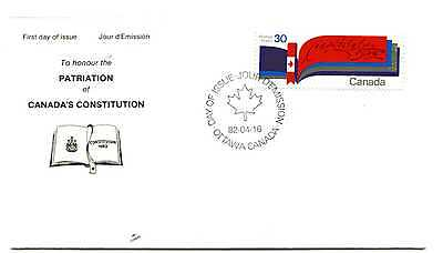 Canada 916 New Constitution NR-Covers,  FDC