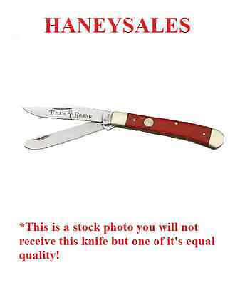 German Boker Tree Brand Smooth Red Bone Trapper 110730 ONE DAY
