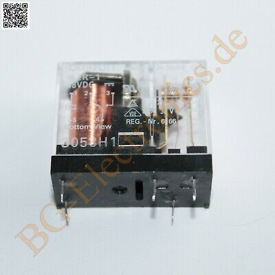 1 x G2R-1-48VDC Electromechanical Relay SPDT Omron  1pcs