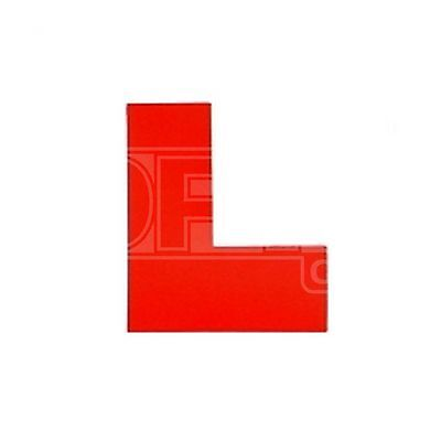 Summit Interior Learner Plates (L Plates) - Window Cling - Pair