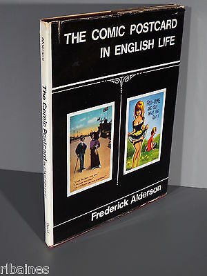R&L Book: The Comic Postcard in English Life, Frederick Alderson 1970 1st Ed