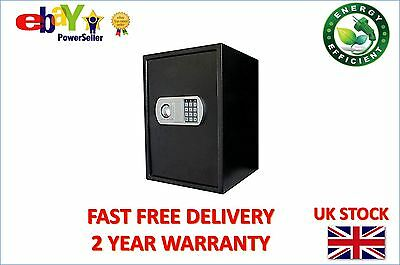 Futura Large Electronic Digital Safe, Heavy Duty Steel Security Box
