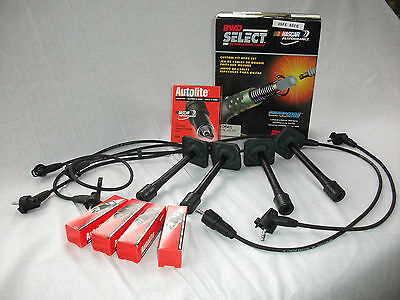 suits 3SFE and 5SFE  camry celica rav4 apollo, spark plugs+leads 92-02 ignition