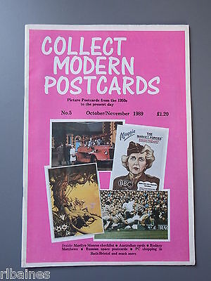 R&L: Collect Modern Postcards Magazine No.05 Oct 1989 Russian Space Age/JA Dixon