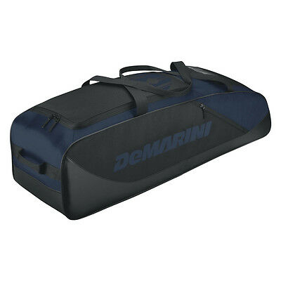 DeMarini D-Team Baseball/Softball Bat Bag - Black/Navy